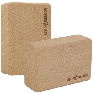 2 x Yoga Block Kork
