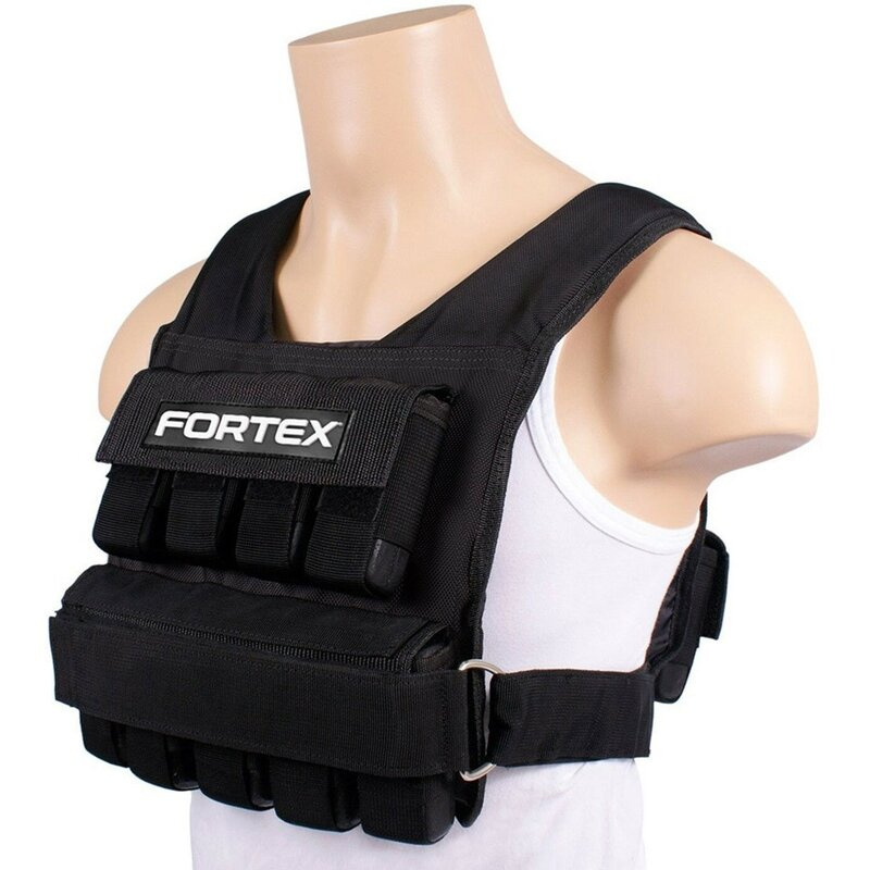 20 kg einstellbare Gewichtsweste Jacke Boxtraining Weste neu Gewichtsweste N0N0