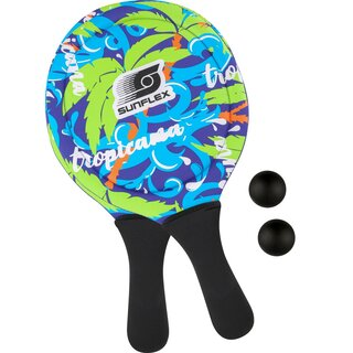 Sunflex Neopren Beachball Set Tropical Wave