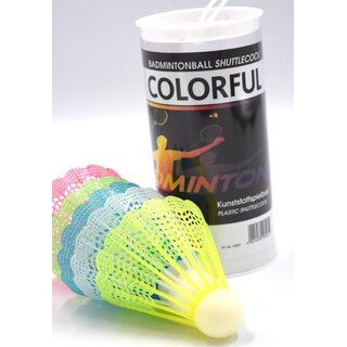 Sunflex Badmintonball COLORFUL 5er Dose