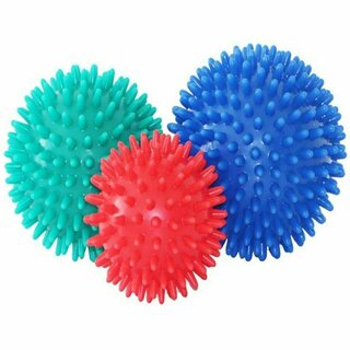 3er Set Massagebälle - 7 cm + 8 cm + 9 cm Massageball