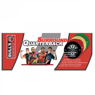 BULLS Quarterback EVA Dart Board Surround grün