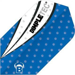 BULLS Dimpletec Blue Flights Slim Shape blau